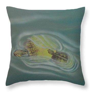 Turtle Pond Iv Throw Pillow