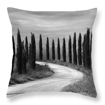 Tuscan Cedars Throw Pillow