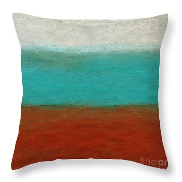 Tuscan Throw Pillow by Linda Woods