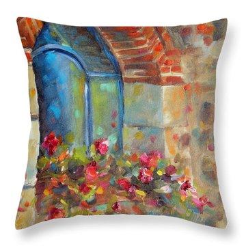Tuscan Reflections Throw Pillow