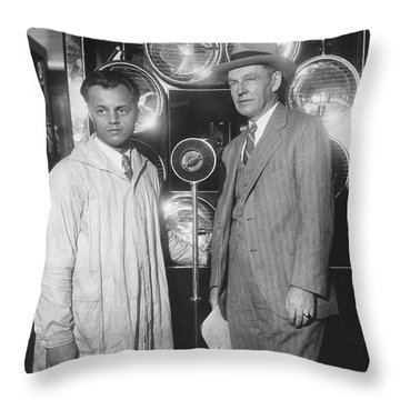 Tv Pioneer Ulises Sanabria Throw Pillow