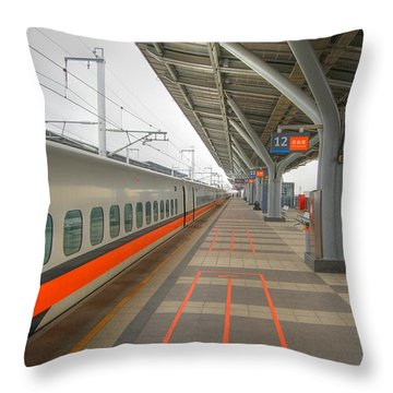 Tw Bullet Train 2 Throw Pillow