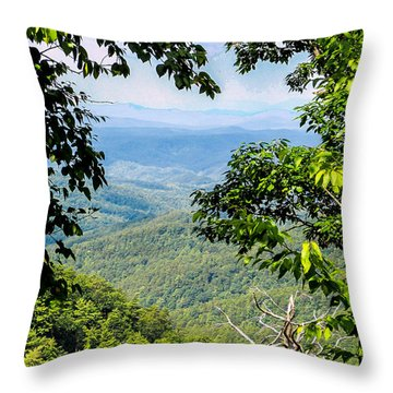Tennessee West Throw Pillow