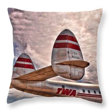 TWA Throw Pillow