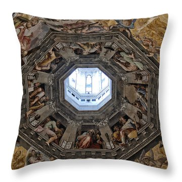 Twenty Four Elders Of The Apocalypse Throw Pillow