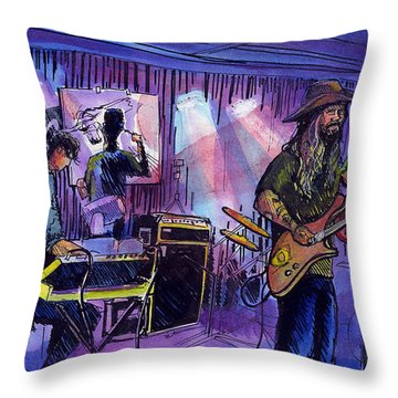 Twiddle Throw Pillow