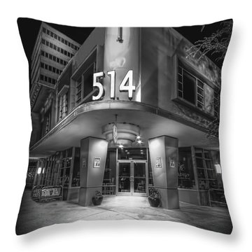 Twiggs 514 Indigo Throw Pillow by Marvin Spates