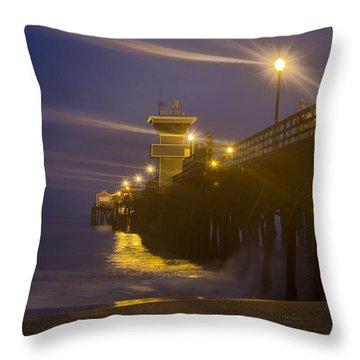 Twilight At Seal Throw Pillow