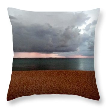 Twilight Chase Throw Pillow by Amar Sheow