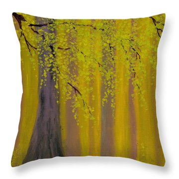 Twilight Forest 1 Throw Pillow