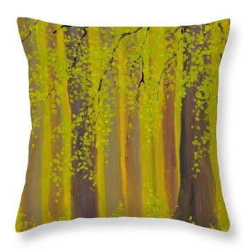 Twilight Forest 2 Throw Pillow
