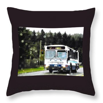 Twilight In Forks Wa 1 Throw Pillow by Sadie Reneau