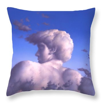 Twilight Throw Pillow by Jerry LoFaro