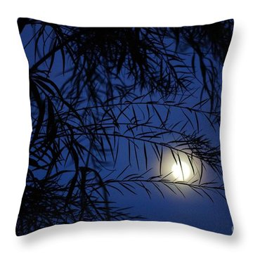 Twilight Moon Throw Pillow