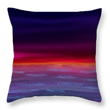 Twilight-night Throw Pillow