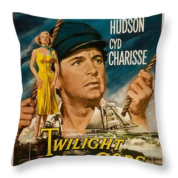 Twilight Of The Gods 1958 Throw Pillow by Mountain Dreams