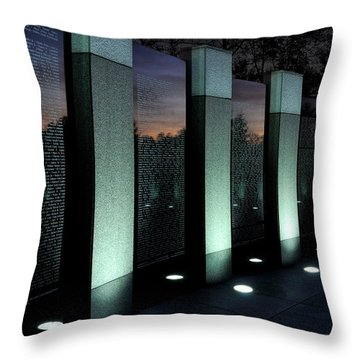 Twilight Reflection Throw Pillow