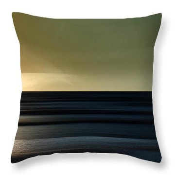 Twilight - Sauble Beach Throw Pillow