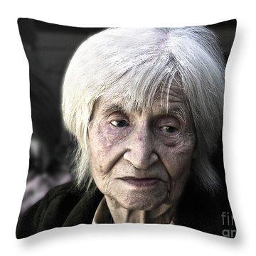 Twilight Sorrow Throw Pillow