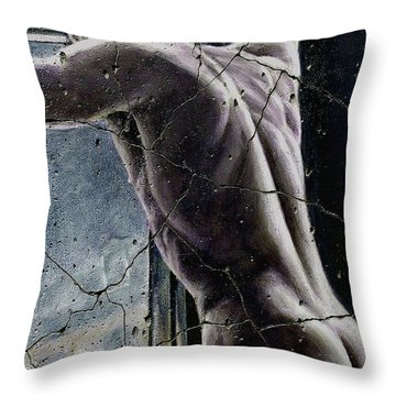 Twilight - Study No. 1 Throw Pillow by Steve Bogdanoff