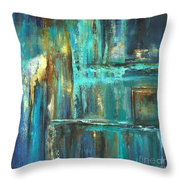 Twilight Throw Pillow by Valerie Travers