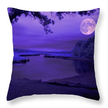Twilight Zone Throw Pillow