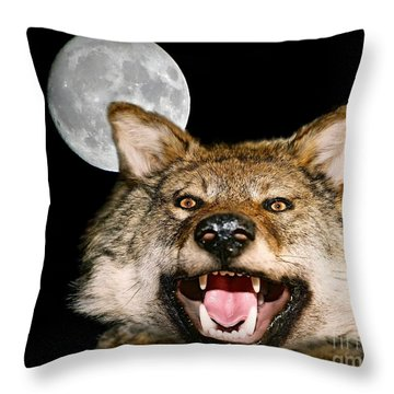 Twilight's Full Moon Throw Pillow