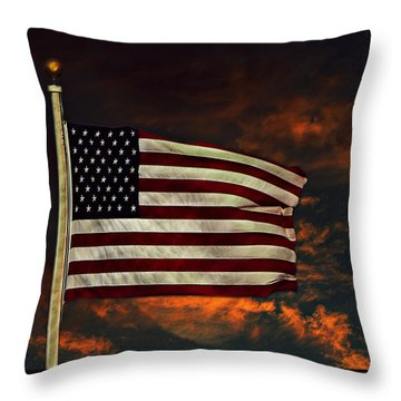 Twilight's Last Gleaming Throw Pillow