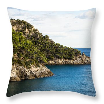 Twin Points Of Italy Throw Pillow