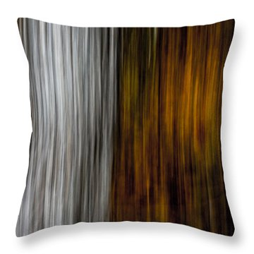 Throw Pillow featuring the photograph Twin Trunks by Darryl Dalton