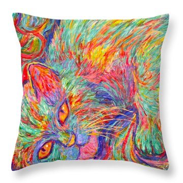 Twine Dreams Throw Pillow by Kendall Kessler