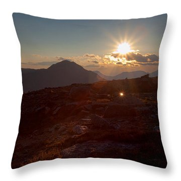 Twinkle Throw Pillow by Jim Garrison