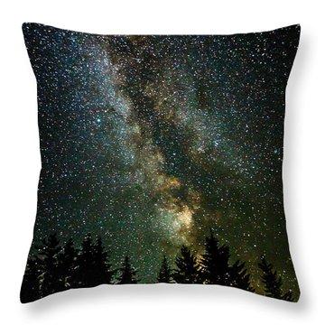 Twinkle Twinkle A Million Stars  Throw Pillow