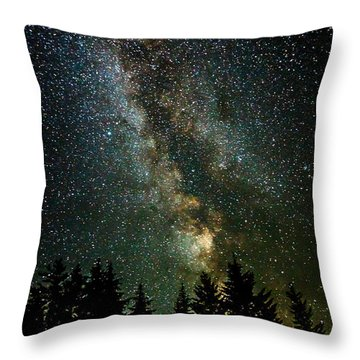 Twinkle Twinkle A Million Stars  Throw Pillow