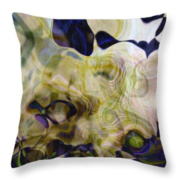 Twist-leaf Throw Pillow