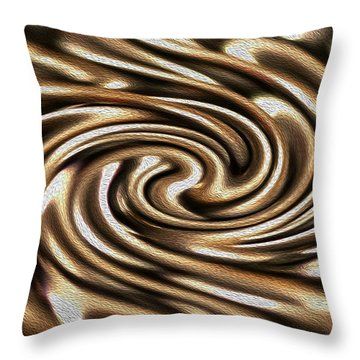 Twisted Chains Throw Pillow