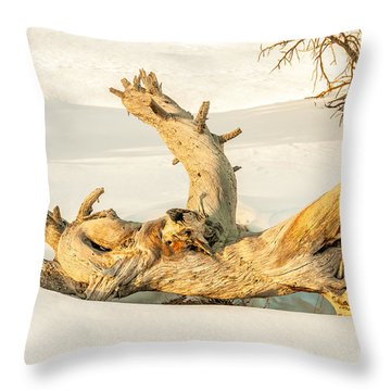 Twisted Dead Tree Throw Pillow
