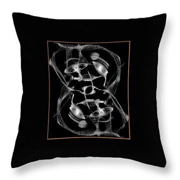 Twisted Me Throw Pillow