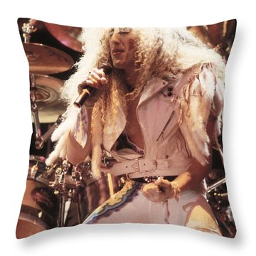 Twisted Sister - Dee Snider Throw Pillow