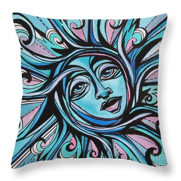 Twisted - Sun  Throw Pillow
