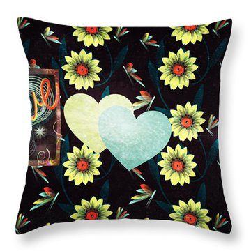 Twitterpated Throw Pillow