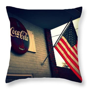 Two American Favorites Throw Pillow