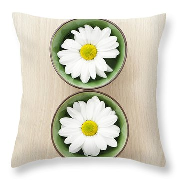 Two Throw Pillow by Anne Gilbert