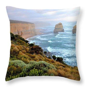 Two Apostles - Great Ocean Road - Australia Throw Pillow