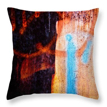 Two As One Throw Pillow by Bob Orsillo