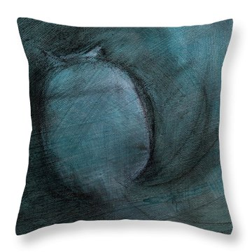 Two Blue You Throw Pillow
