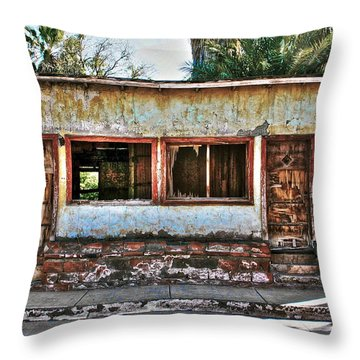 Two Door Model Throw Pillow by Kandy Hurley