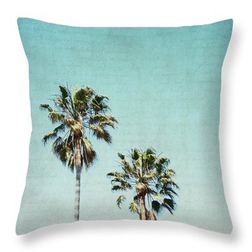 Throw Pillow featuring the photograph Two For The Sun - Square by Lisa Parrish
