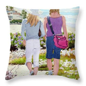 Blond Throw Pillows