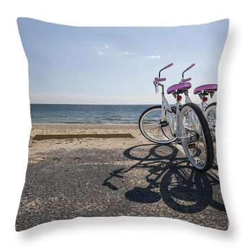Two If By The Sea Throw Pillow